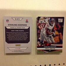 sterling shepard #ART-5 Giants RC  2016 Panini Instant NFL All Rookie Team