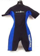 Scuba Max Wet Suit Size 6 Black 2.0 MM  Swim Surf Paddle Board Shortie  (P)