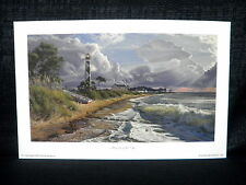 """Phillip Philbeck """"Majesty Of The Cape"""" Cape Lookout Open Edition Lithograph"""