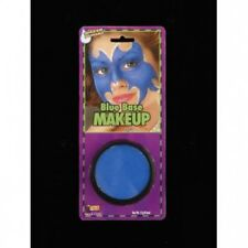BLUE GREASE PAINT MAKEUP Face Base Man Group Costume Halloween Clown Washable