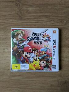 Super Smash Bros For Nintendo 3DS version australienne