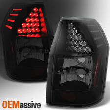 Fit 2005 2006 2007 2008 Dodge Magnum Black Smoked Led Tail Lights Replacement (Fits: Dodge)