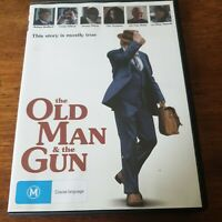 The Old Man and the Gun DVD R4 Like New! FREE POST