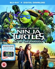 Teenage Mutant Ninja Turtles: Out Of The Shadows [DVD][Region 2]