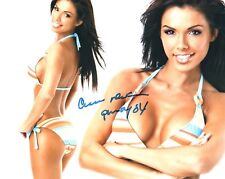 Carmella DeCesare Signed Photo 8x10 #55B Playmate of the Month April 03 WWE S.I.