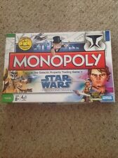 Monopoly Star Wars The Clone Wars Edition.  Used But Complete.