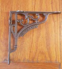 "A Single Cast Iron Singer Corp Shelf Bracket 8"" x 8"" Railway / Vintage / Retro"