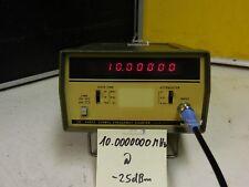 HP 5382a fiable frecuencia contador, extra estable presión de aluminio fundido carcasa!