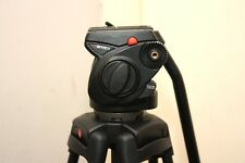 Manfrotto 501 hdv video head with manfrotto 525mvb two stage tripod