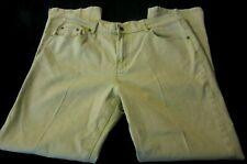 DG2 by Diane Gilman Green Acid Wash Stretch Straight Leg Cuff Pants  Size 14