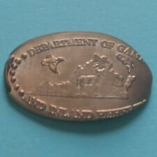 Dept Of Game And Inland Fisheries Richmond Virginia Muled Elongated Copper Penny