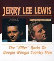 KILLER ROCKS ON/BOOGIE WOOGIE - LEWIS JERRY LEE [CD]