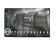 CD Stereoanlage Musikanlage Musik Spieler Player Stereo mit CD Player MP3 NEU