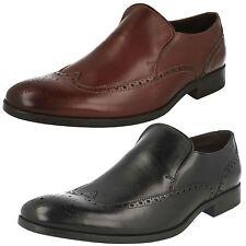 Clarks Slip On 100% Leather Formal Shoes for Men