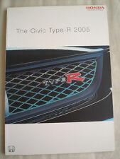 Honda Civic Type R brochure Jan 2005