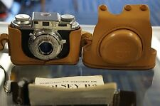 Vintage Bolsey B2 Rangefinder 35mm Film Camera w/ Wollensak 44mm f/3.2 Lens