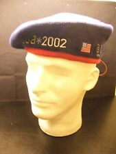 2002 Salt Lake Olympic Games > Commemorative TEAM USA Blue Beret Hat