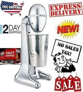 Hamilton Beach Milkshake Drink Mixer Machine Milk Shake Maker Blender Stand MIX