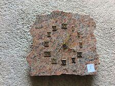 Pendule sur plaque de marbre Décoratif vintage (2)