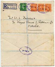 GB registrato b.i.f British Industries Fair OVALI Birmingham a Nairn 6 MAGGIO 1949