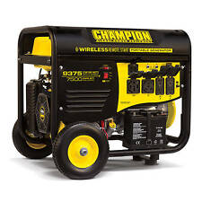 100161 - 7500/9375w Champion Power Equipment Generator - Remote Start