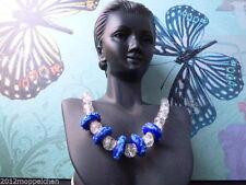 Handgefertigte runde Modeschmuck-Halsketten & -Anhänger aus Glas