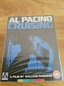 CRUISING (BLU-RAY ARROW) VIDEO LIMITED EDITION with Slipcover and Booklet SEALED