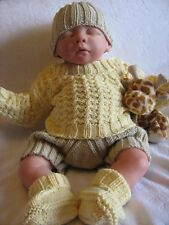 Honeydropdesigns * Lil Twisted * PAPER KNITTING PATTERN * Baby/Reborn (3 Sizes)