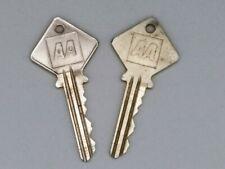 2 Vintage Yale AA Automobile Association Phone box Keys Automobilia Transport