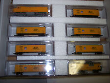 N SCALE UNION PACIFIC TRAIN SET  # F2 LOCO W/ 6 HOPPER CARS & UP CABOOSE 2011-19