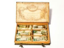 c1800 Fonderia di S. Maria Novella Italy 6 Scent Bottles Book Quint Essenze Box