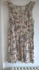 PINS AND NEEDLES URBAN OUTFITTERS FLORAL PRINT DRESS SIZE L EXCELLENT CONDITION