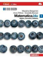 Matematica.blu vol.1, Zanichelli scuola, Bergamini/Trifone cod:9788808223289