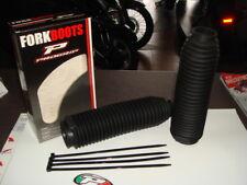 soffietti forcella fork boots grandi nero Enduro Yamaha Suzuki Ktm Swm Fantic