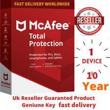 McAfee Total Protection 2020 Antivirus 1 Devices 🔟 Years