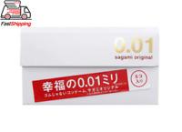 Sagami Original 001 Japan 0.01mm Ultra Thin Condoms (5Pcs) NonLatex✓ US SELLER