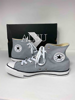 Sneakers Men's Converse Chuck Taylor All Star High Top Wolf Grey Canvas 164449F