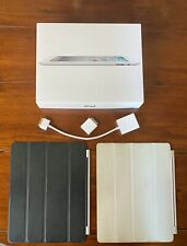 BUNDLE Apple iPad 2 WiFi+3G 32GB (AT&T Locked GSM) 2 Smart Covers, USB, Serial)