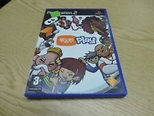 PLAYSTATION 2 , EYE TOY PLAY, VIDEO GAME   #K41
