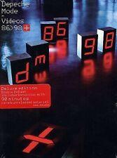 DEPECHE MODE VIDÉO 86/98 DELUXE 2dvd