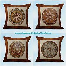 US SELLER- 4pcs throw pillow case for sofa cushion covers mandala unity harmony