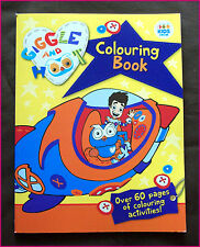 GIGGLE AND HOOT - ACTIVITY & COLOURING IN BOOK - 64pg Colour in ABC KIDS - New