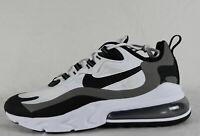 New Nike Air Max 270 React in White/Black Metallic Pewter Colour Size US 11