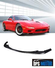 OER Urethane Front Bumper Lip Spoiler Body kits For 93-97 Mazda RX7 RX-7 FD USDM