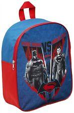 Childrens Oficial Batman Vs Superman Outdoor Travel Escuela Bolso de hombro BACKPAC