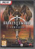 Broken Sword Complete Collection 4 pack Brand New Sealed XP/Vista/7/8