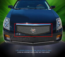Dual Weave Mesh Grille Grill For Cadillac CTS 2003 2004 2005 2006 2007