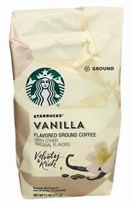 Starbucks Vanilla Flavored Ground Coffee 11 oz
