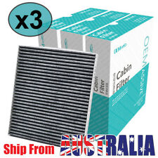 For Kia Rio Cerato Hyundai Accent Genesis 08790-2E200 3x Pollen Cabin Air Filter