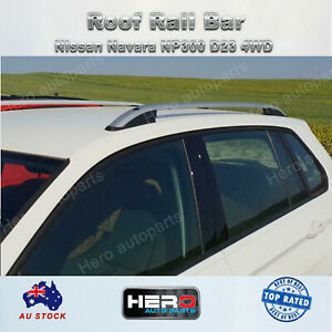 Alloy Roof Rail Silver for Nissan Navara D23 NP300 2015-2020 OEM style
